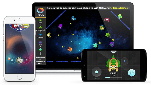 Petri - Ibidex multiplayer game